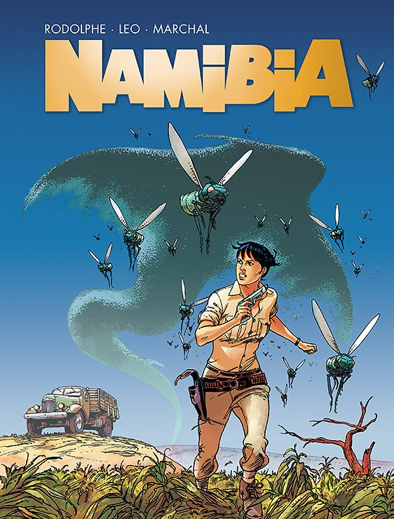 Namibia - okładka