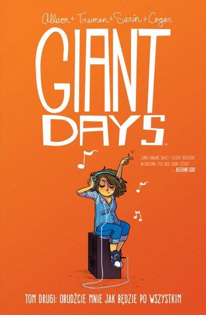 Giant Days #02 - okładka