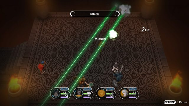 Lost Sphear - screeny z gry