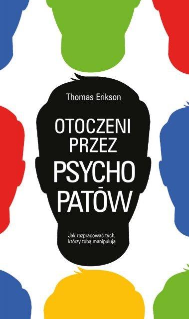 Otoczeni przez psychopatów - okładka