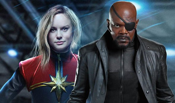 Nick Fury - Captain Marvel