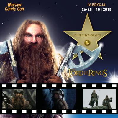 John Rhys-Davies Warsaw Comic Con