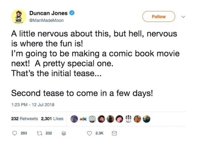 Duncan Jones - Twitter