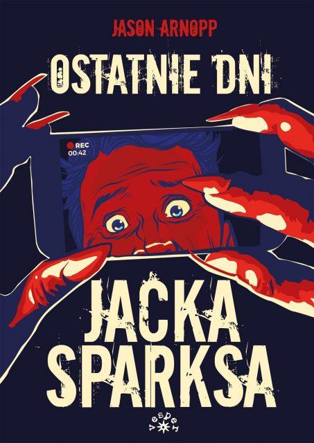 Ostatnie dni Jacka Sparksa - okładka