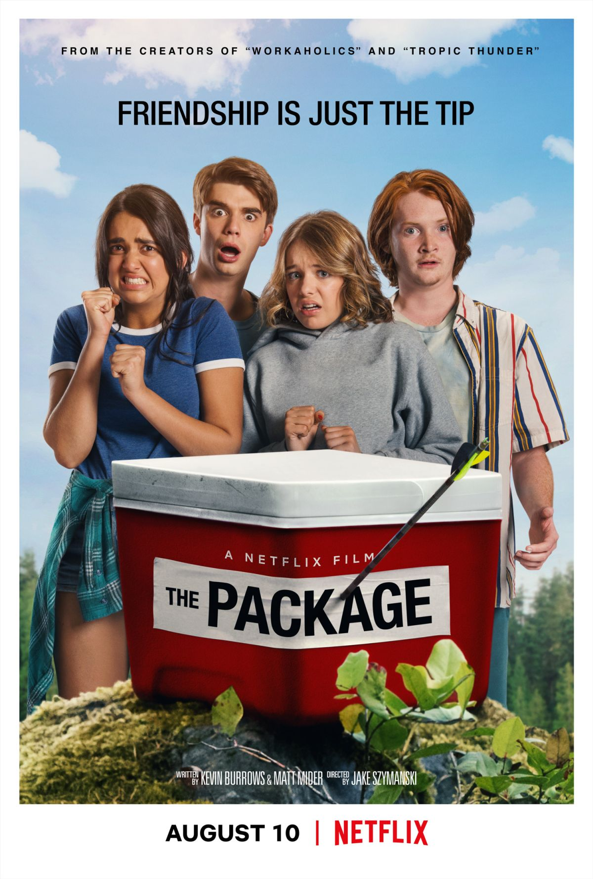 The Package - plakat