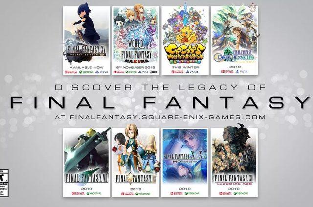 Final Fantasy na konsolach Nintendo