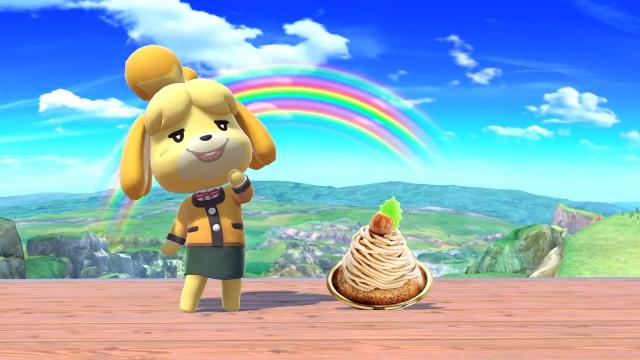 Isabelle w Super Smash Bros.