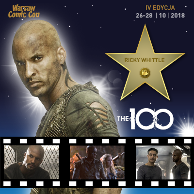 Ricky Whittle Warsaw Comic Con