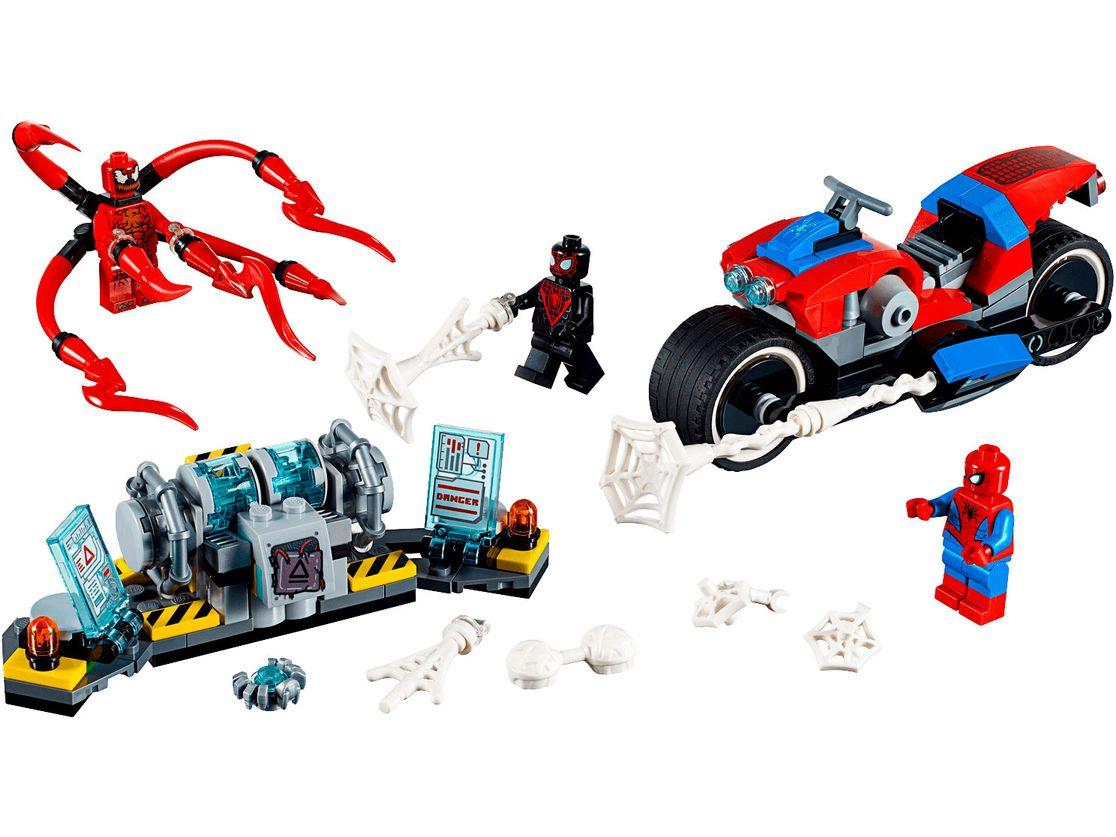 LEGO Spider-Man - Pościg motocyklowy Spider-Mana