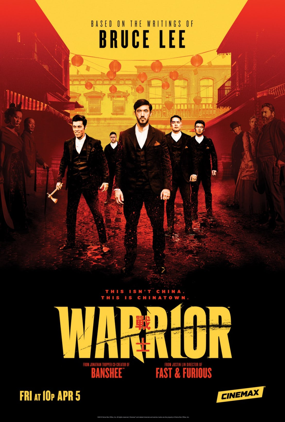 Warrior - plakat