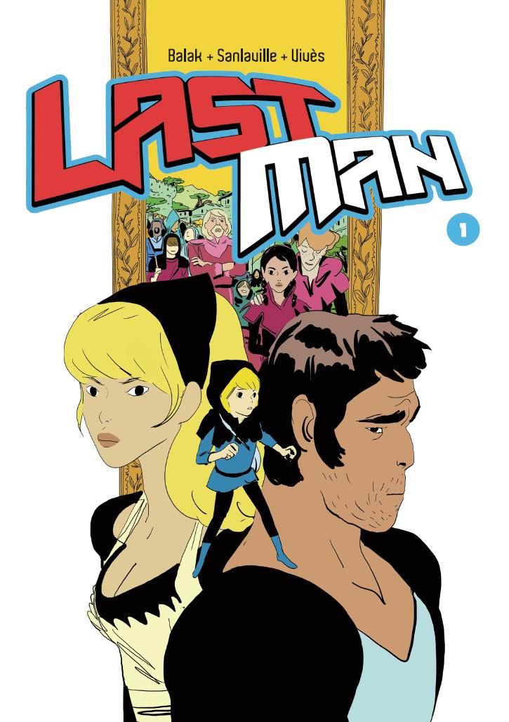 Lastman, tom 1 - okładka