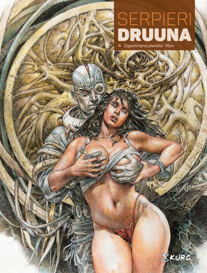 Druuna #04: Zapomniana planeta Klon - okładka