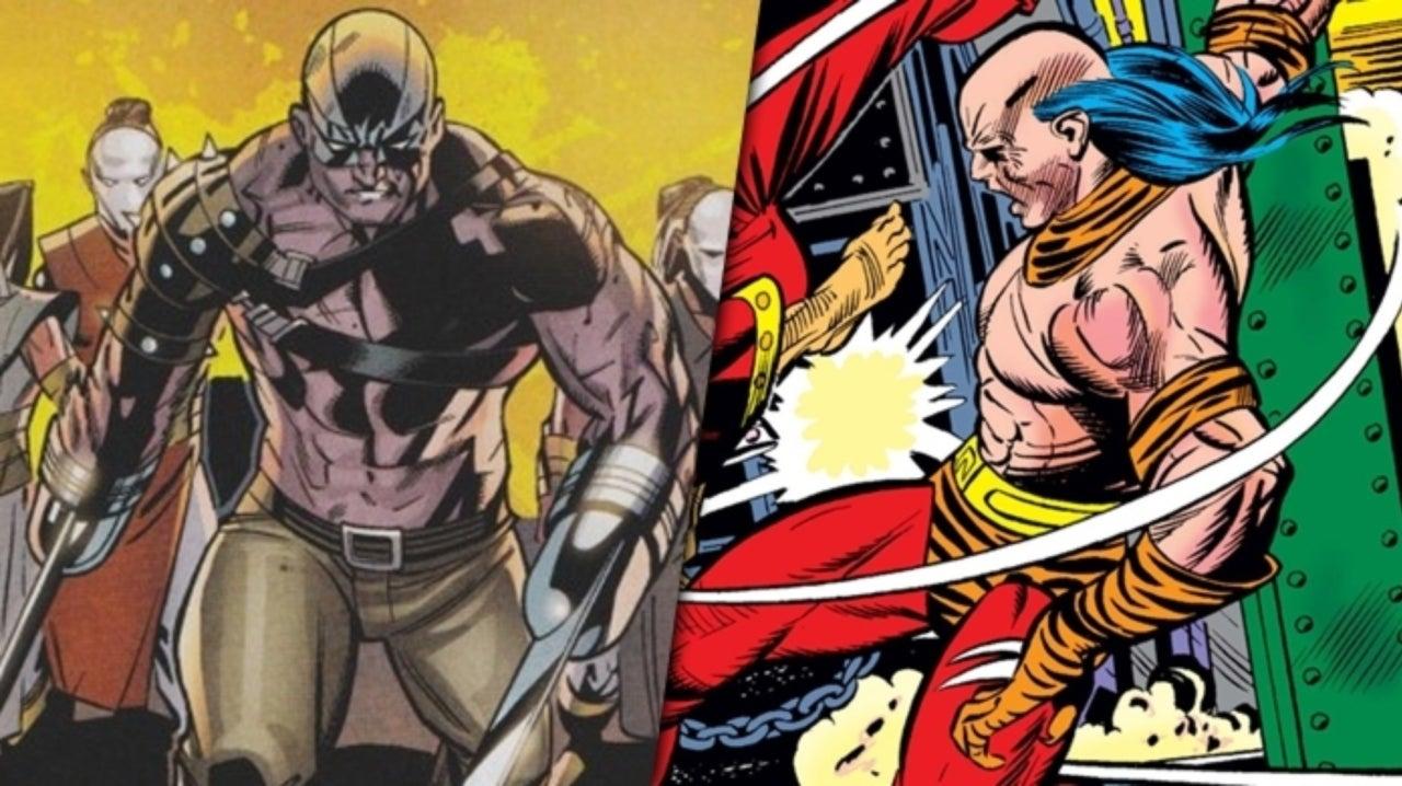 Razor-Fist i Tiger-Claw