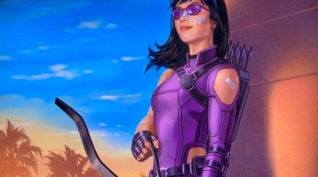 Hawkeye - szkic koncepcyjny