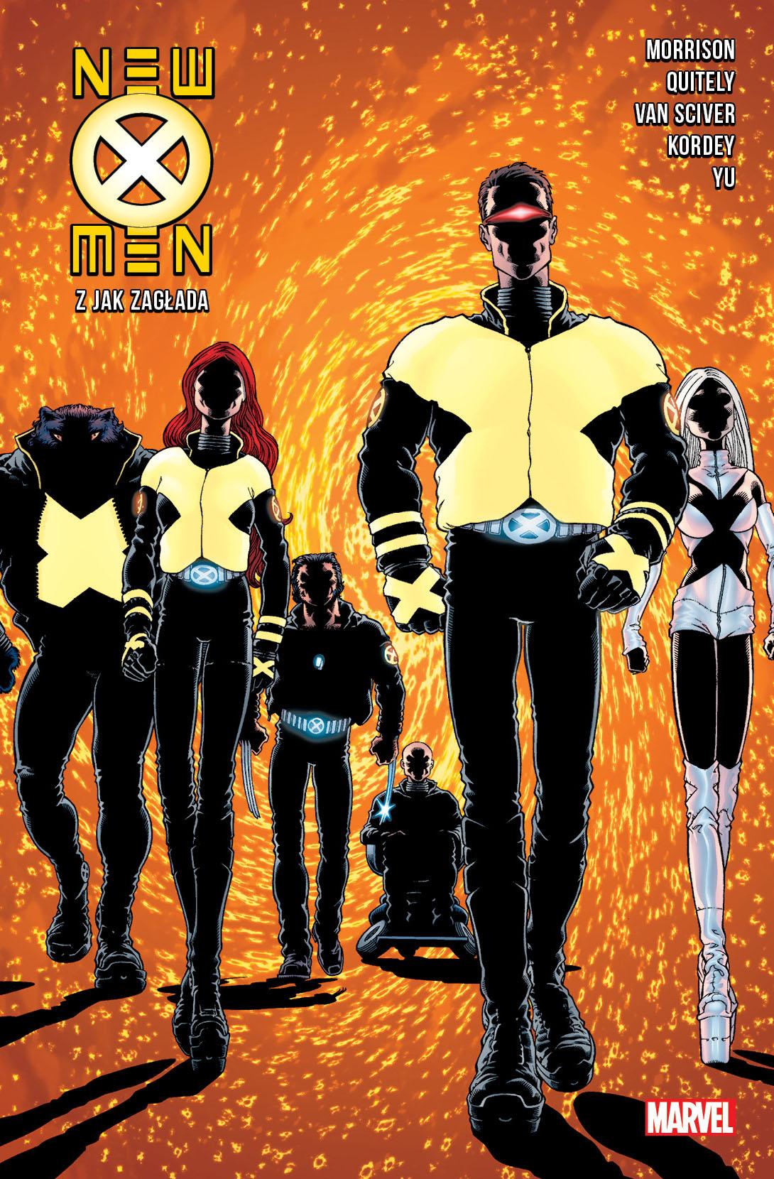 New X-Men #01. Z jak Zagłada - okładka