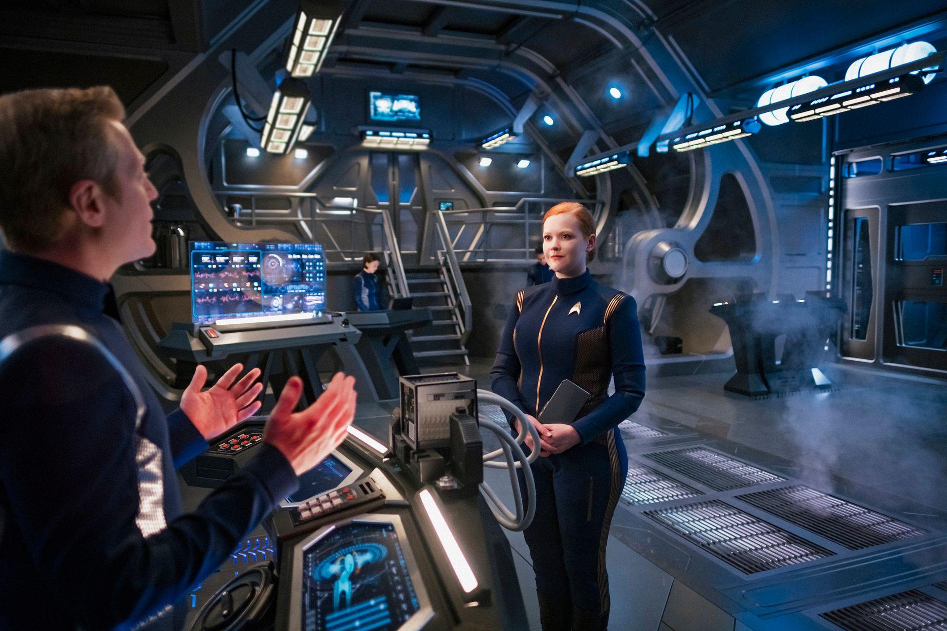 """Stamets i Tilly w drugim sezonie mogą dostarczyć odpowiedniej dawki """"technobełkotu"""". / Fot. CBS"""