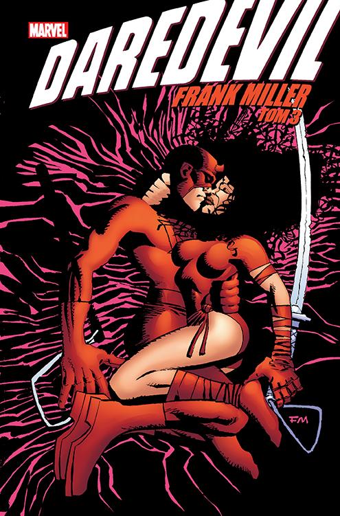 Daredevil. Frank Miller, tom 3 okładka