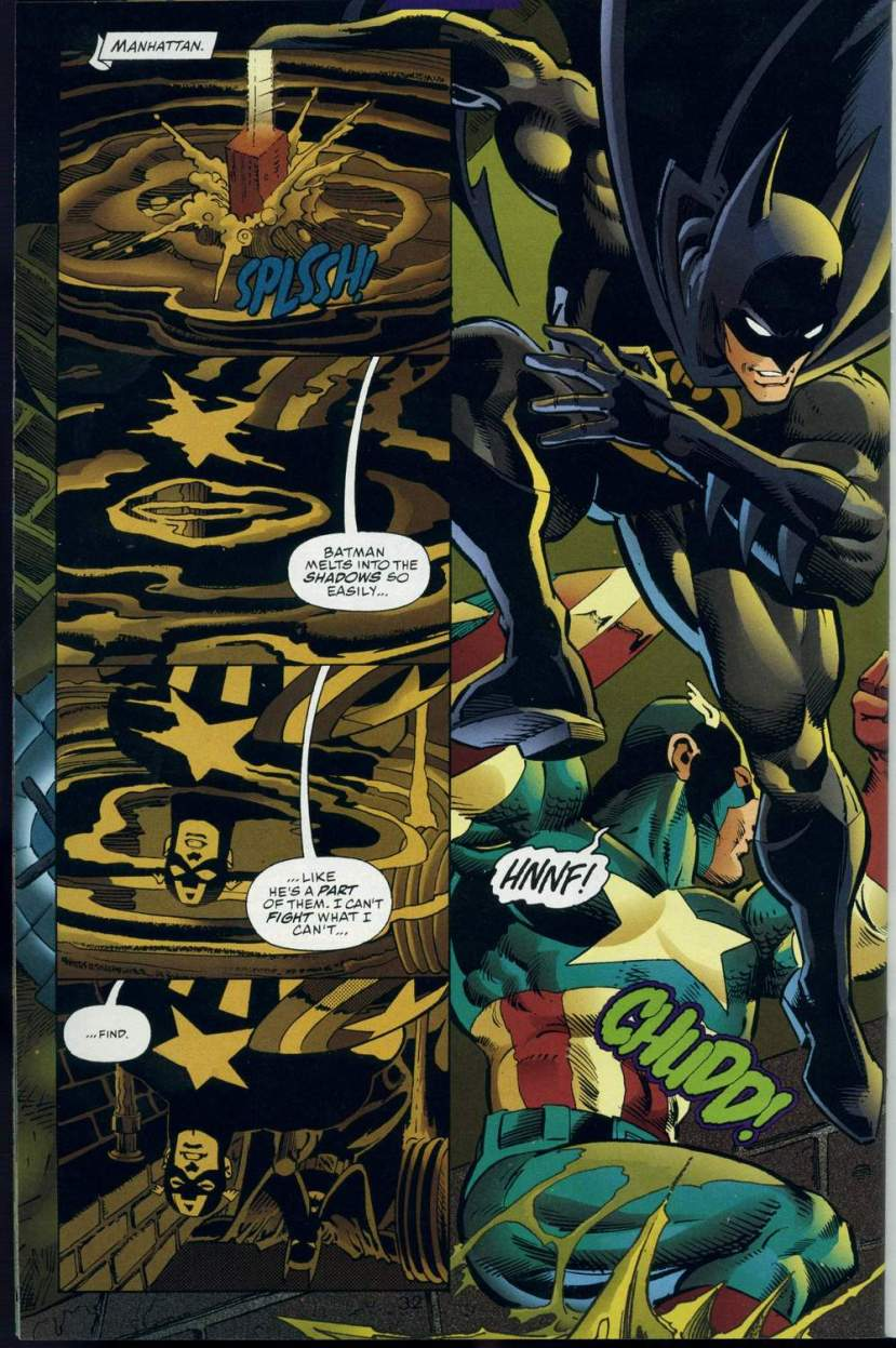 Batman vs. Kapitan Ameryka - crossover z 1996 roku