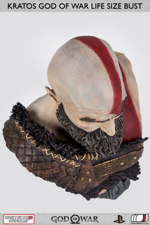 God of War - popiersie Kratosa
