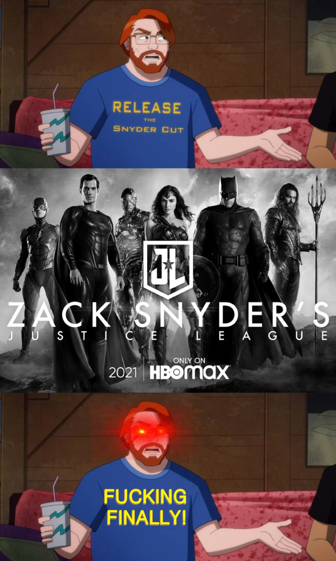 Snyder Cut - memy