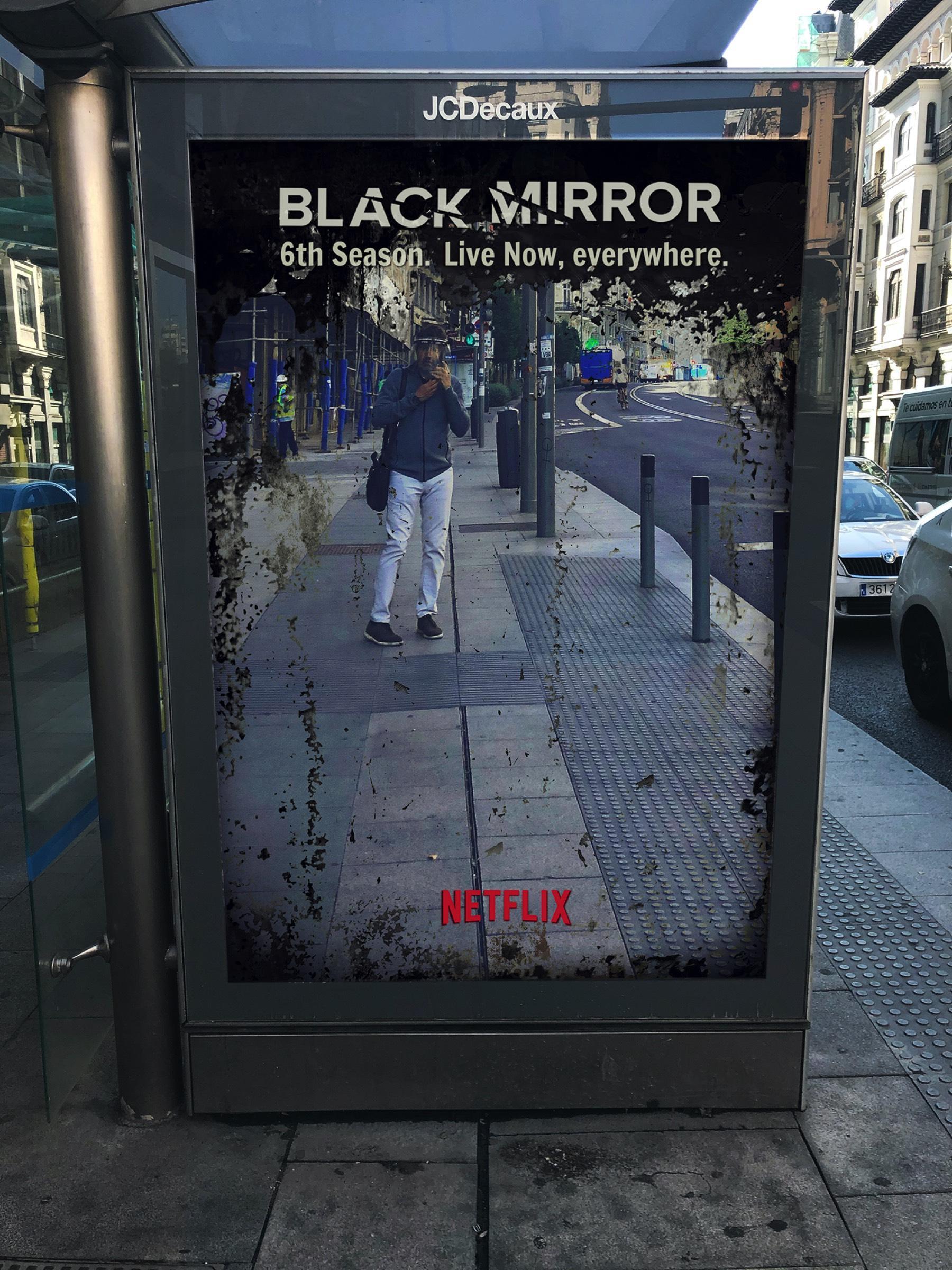 Czarne lustro 6. sezon reklama
