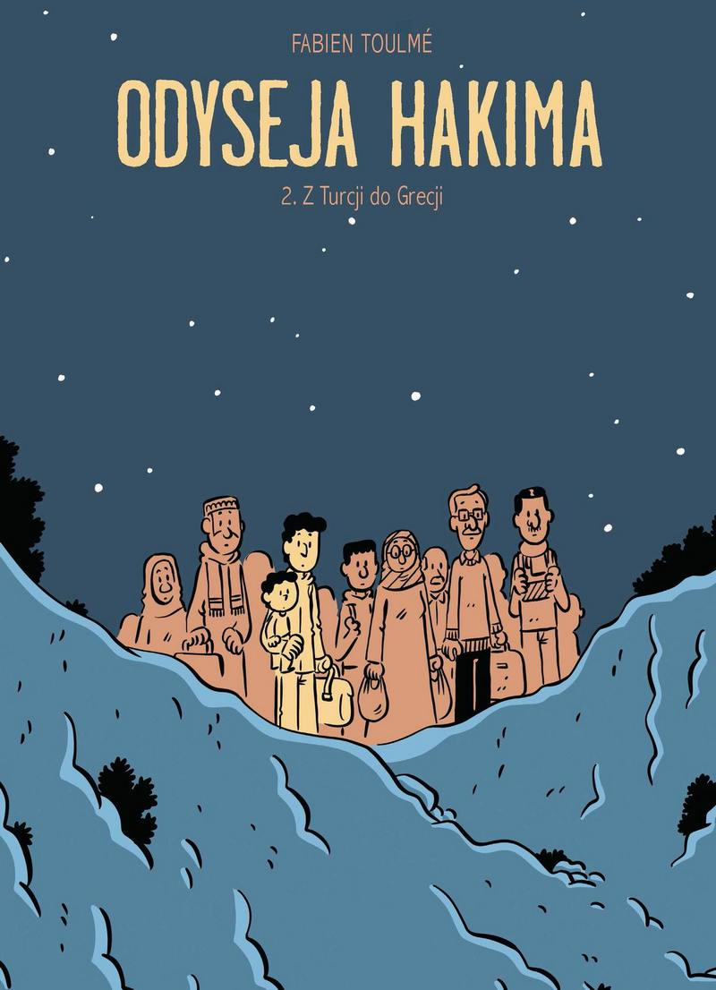Odyseja Hakima. Tom 2. Z Turcji do Grecji - okładka