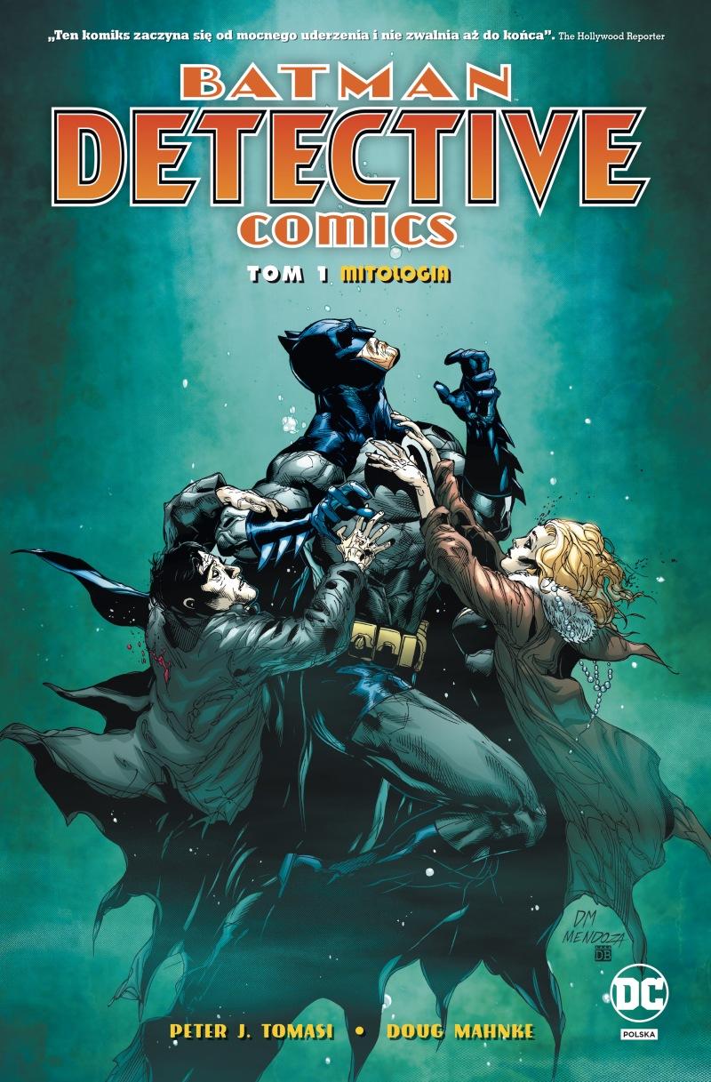 Batman. Detective Comics. Mitologia. Tom 1 - okładka