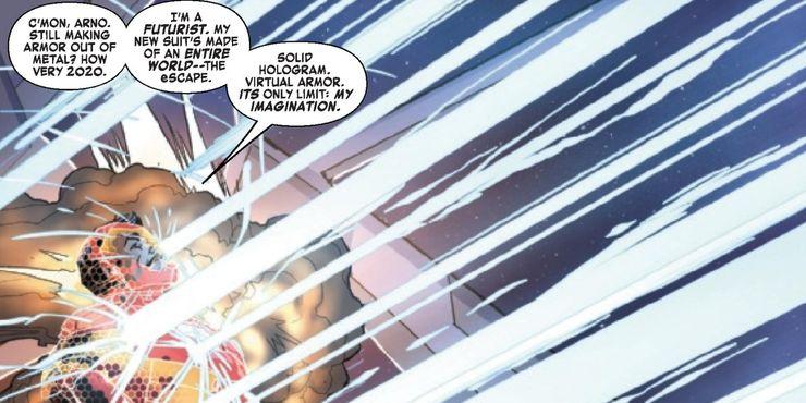 Iron Man 2020 #5 - plansze