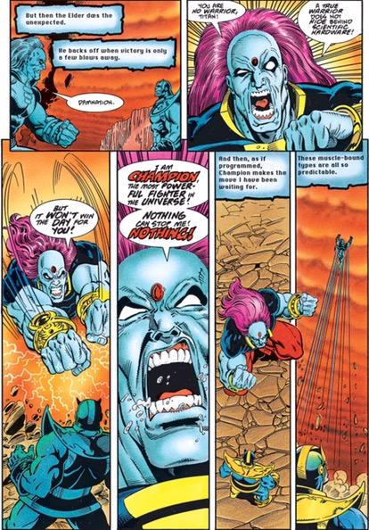 Thanos Quest #1 - plansze