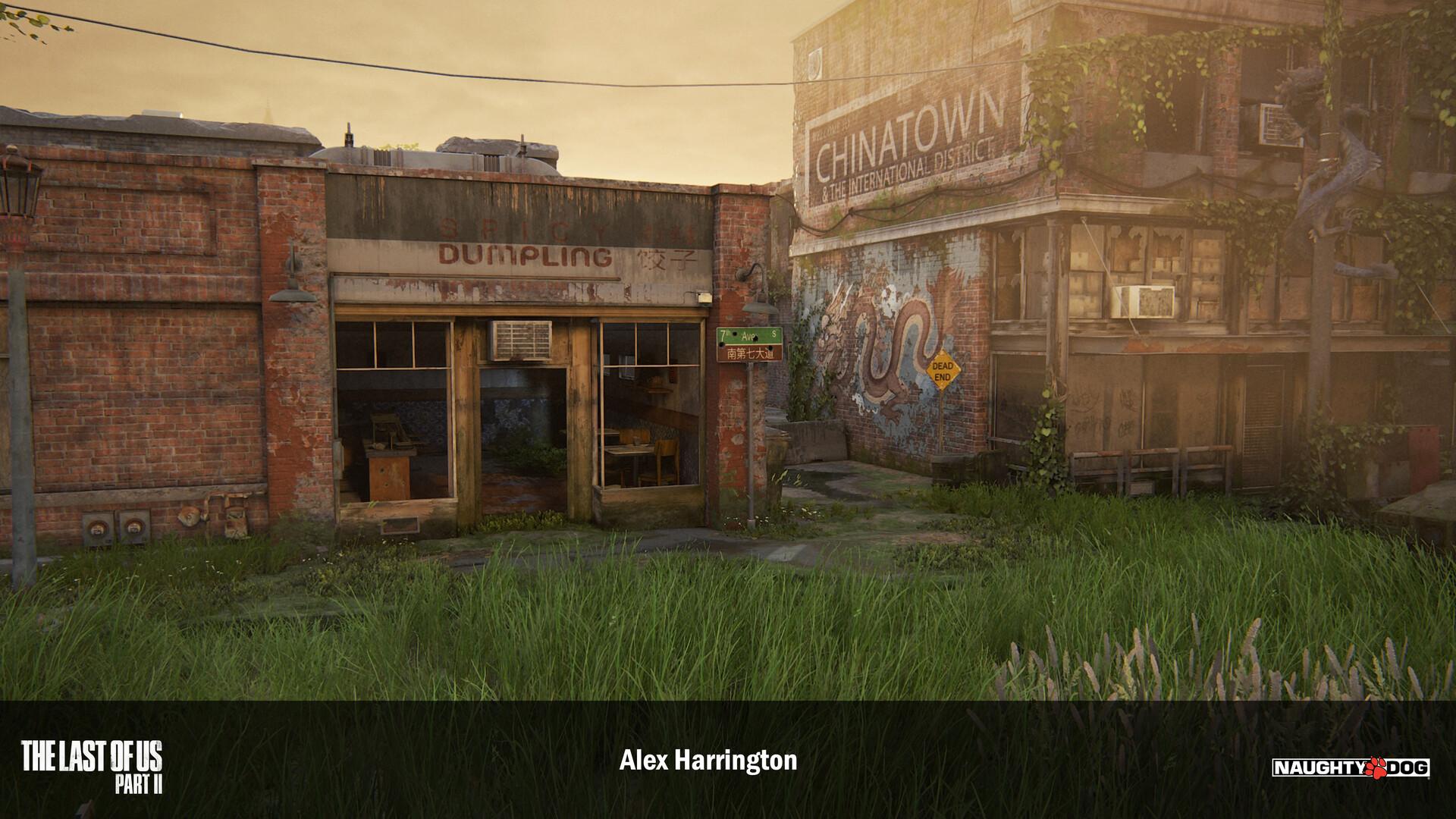 The Last of Us: Part II - grafiki i szkice koncepcyjne