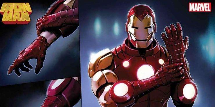 Iron Man #1 - zbroja herosa