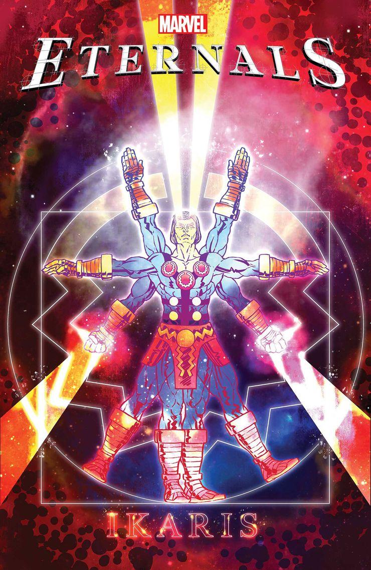 Eternals #1 - okładka alternatywna