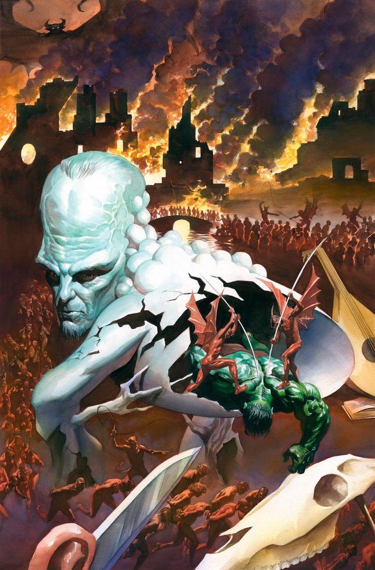Immortal Hulk - praca Alexa Rossa