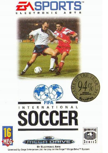 FIFA International Soccer - okładka