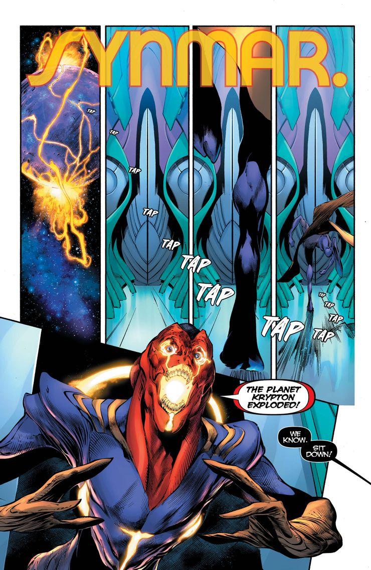 Superman #25 - plansze