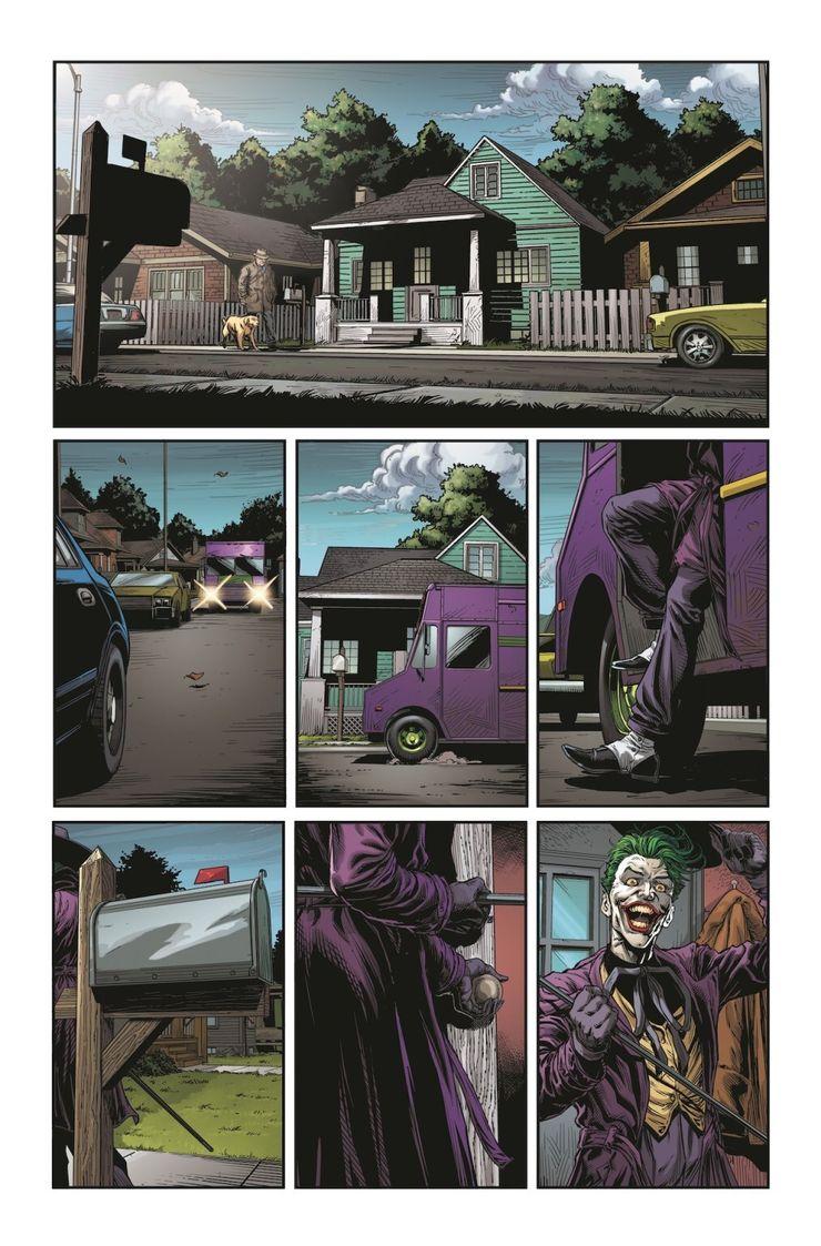 Batman: Three Jokers #2 - plansze