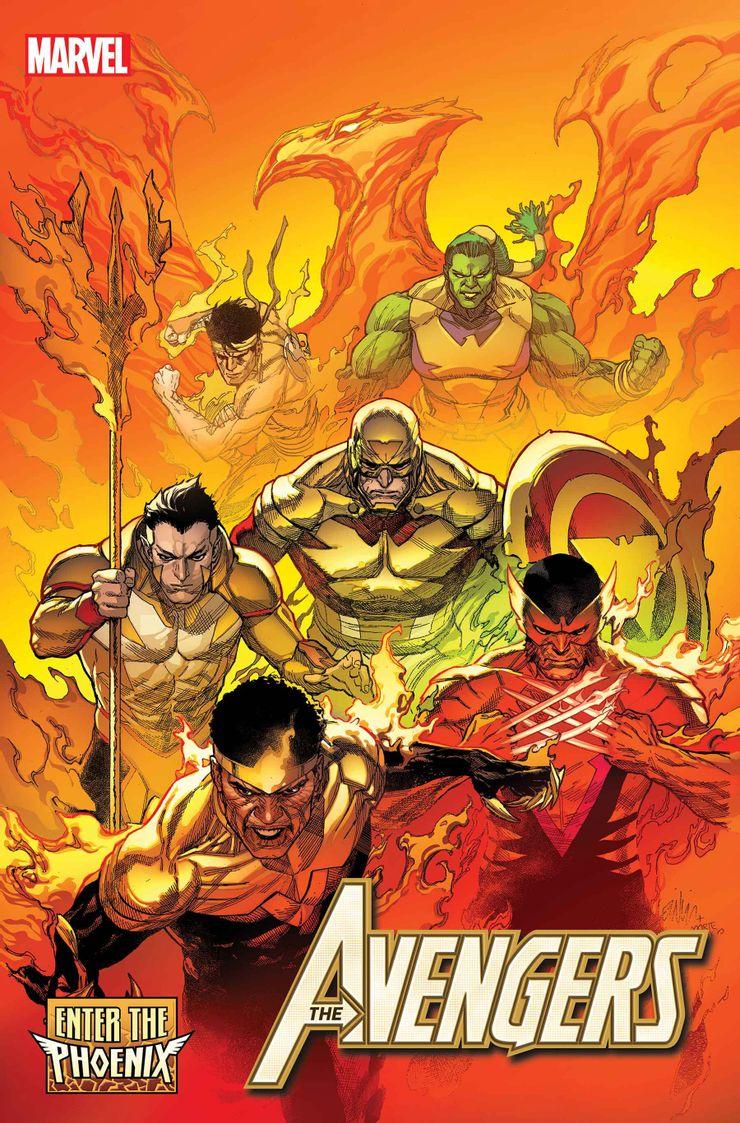 Avengers #40 - okładka