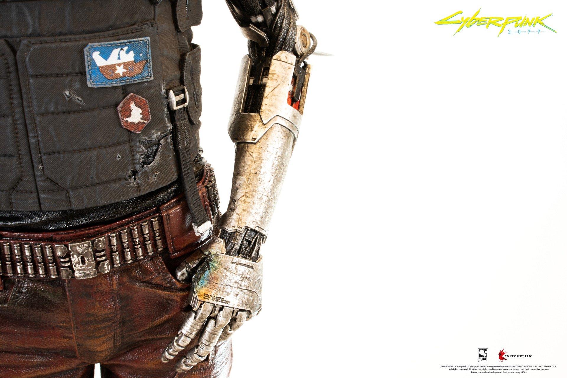 Cyberpunk 2077 - figurka Johnny'ego Silverhanda od Pure Arts