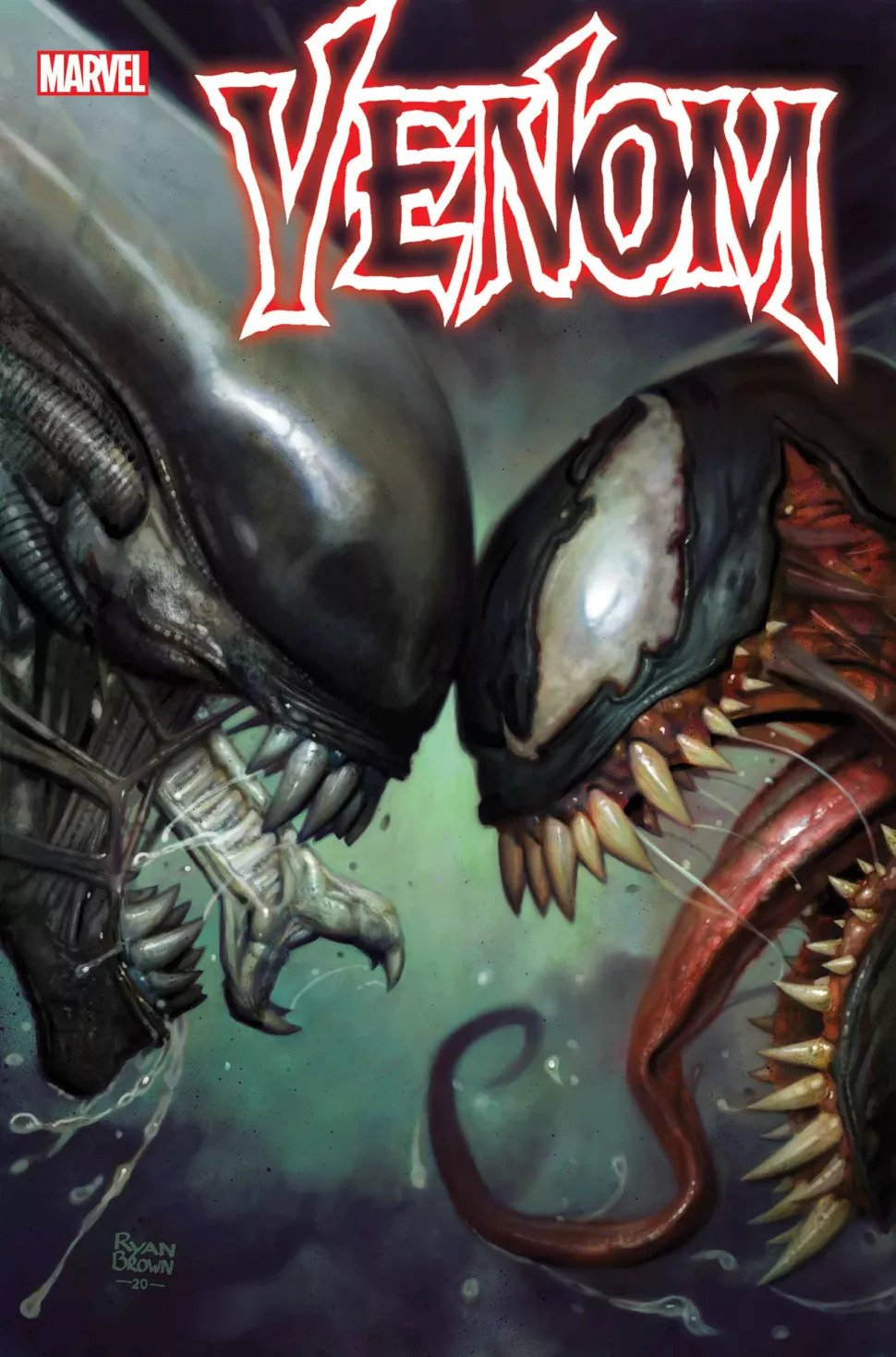 Uniwersum Marvela vs, Obcy - alternatywne okładki styczniowych zeszytów