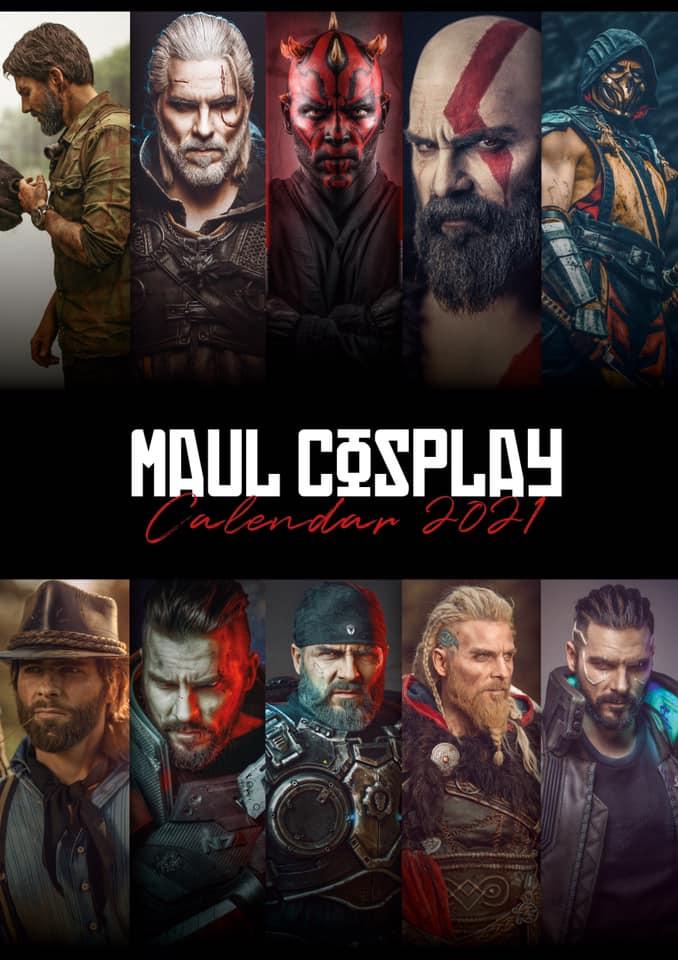 Maul Cosplay - kalendarz na rok 2021