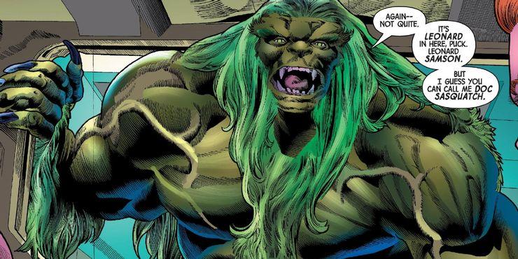 Doc Sasquatch w zeszycie Immortal Hulk #40