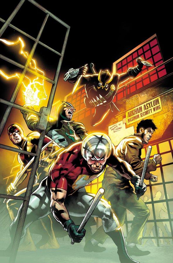 The Suicide Squad - okładka pierwszego zeszytu po Future State