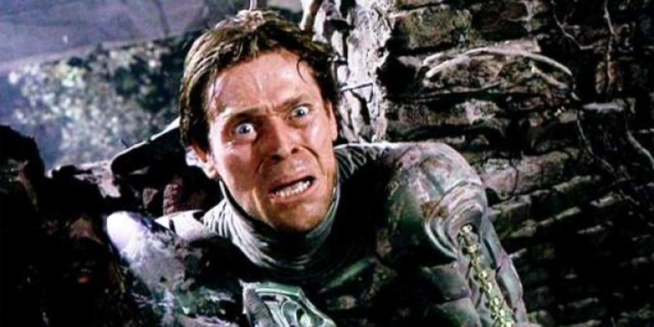 Willem Dafoe jako Zielony Goblin
