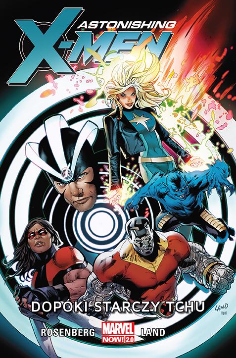 Astonishing X-Men – Dopóki starczy tchu, tom 3 - okładka