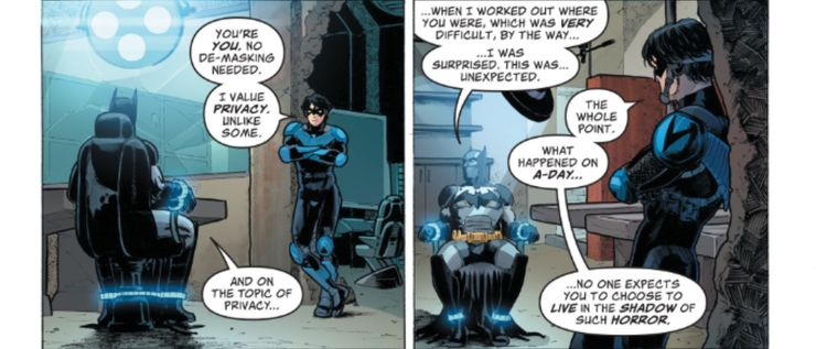 Future State: Nightwing #1 - plansze