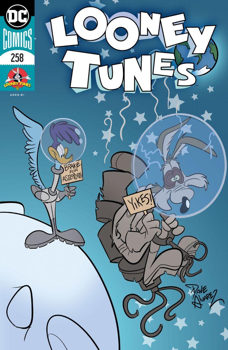 Looney Tunes #258 - okładka