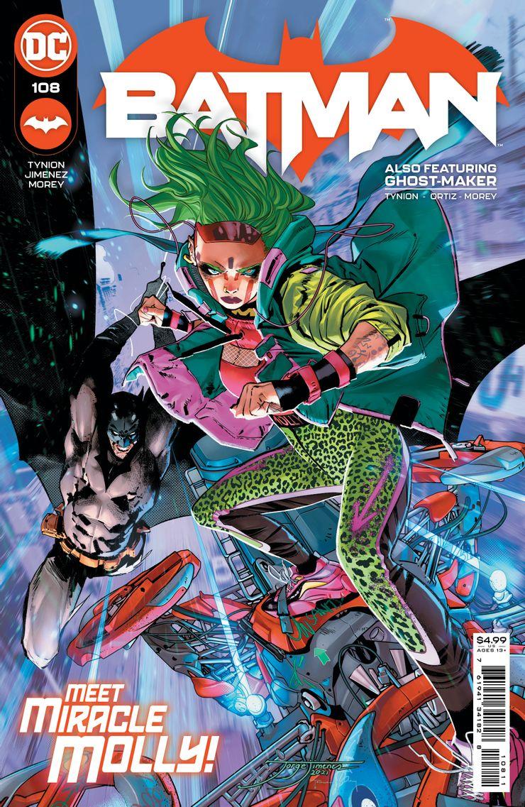 Batman #108 - materiały promocyjne