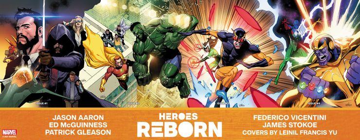 Heroes Reborn - materiały promocyjne (baner)