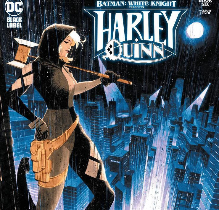 Batman: White Knight Presents: Harley Quinn #6 - okładka alternatywna