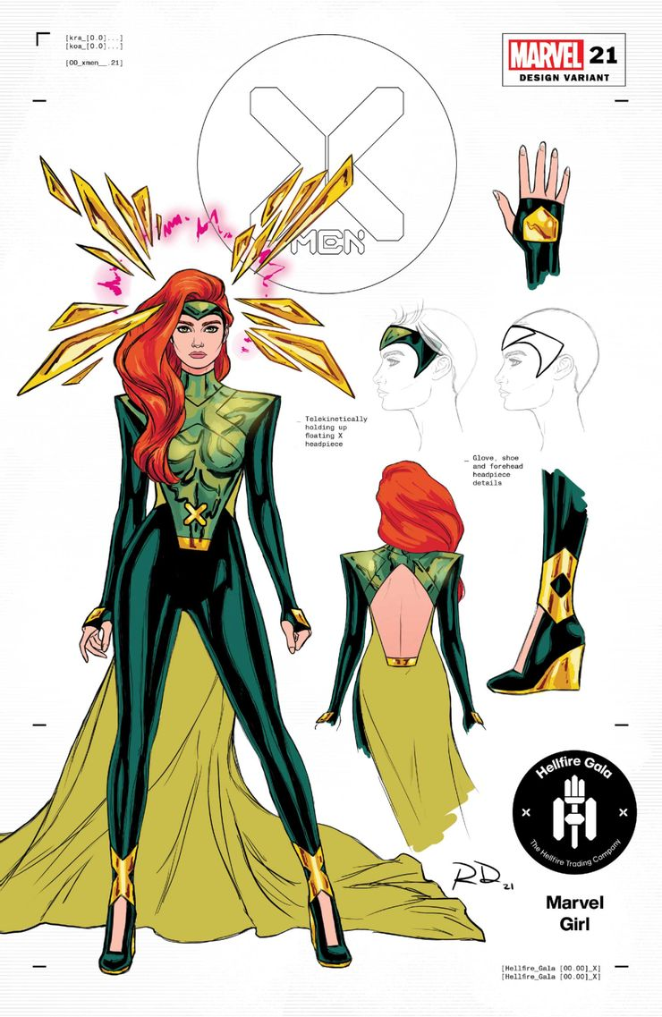 Hellfire Gala - nowe stroje X-Menów